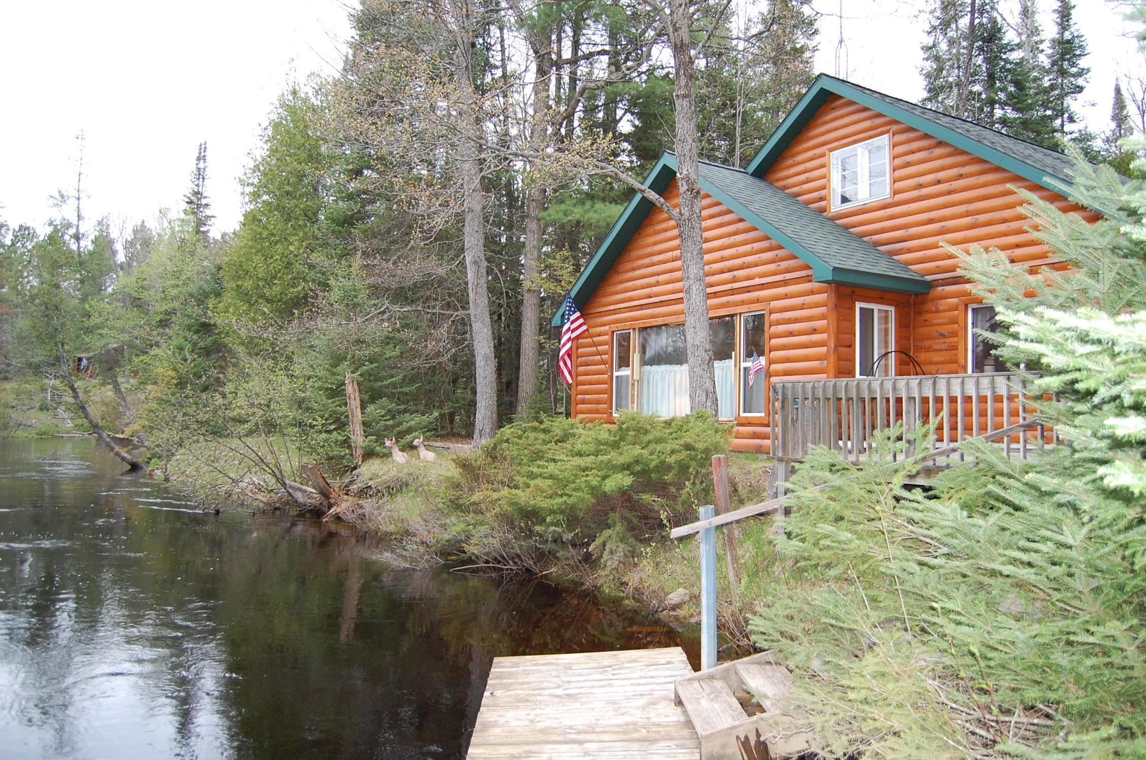 Featured Ausable Riverfront Property For Sale 20 Algonquin ...