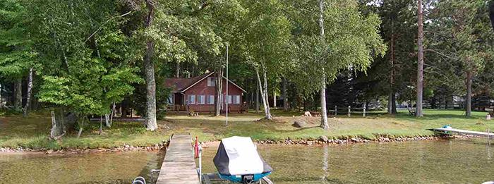 Home with 75 feet of frontage Higgins Lake! - 304 Cardinal Higgins Lake, MI 48627