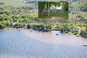 Aerial View Of 1265 E Houghton Lake Dr